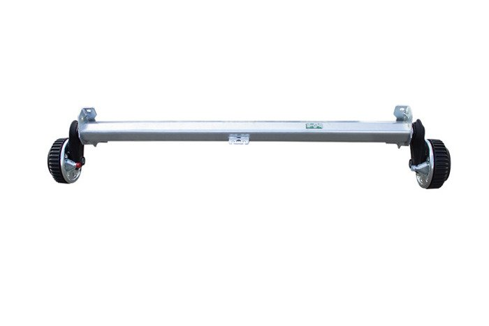 Braked axle for trailers AL-KO 1260 mm 1500 kg 5x112